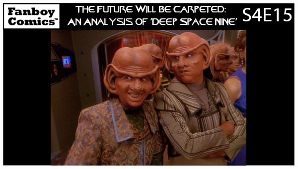 The Future Will Be Carpeted: An Analysis of 'Deep Space Nine (S4E15)'