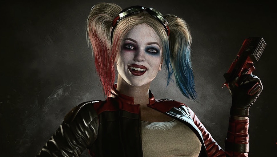 Arkham quinn batman city harley
