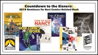 Countdown to the Eisners: 2018 Nominees for Best Comics-Related Book