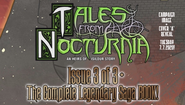 Fanbase Press Interviews Matt Knowles and Steph Cannon on Launching the Kickstarter Campaign for Insymmetry Creations' 'Tales from Nocturnia'