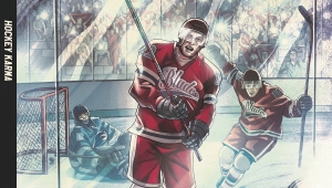'Hockey Karma:' Advance Graphic Novel Review and Giveaway! - WINNERS ANNOUNCED