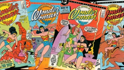 Wonder Woman Wednesday: An Interview with Legendary WW Creator Trina Robbins