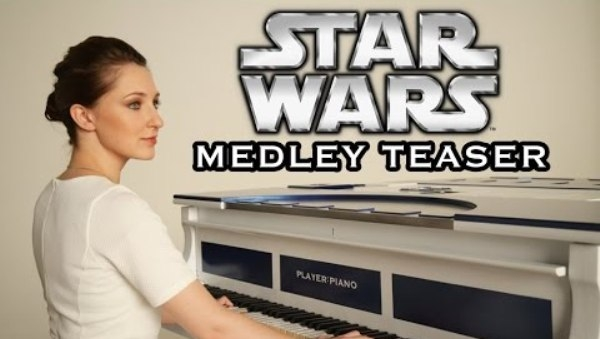 Player:Piano Awakens Their Inner Jedi with the Ultimate 'Star Wars' Medley