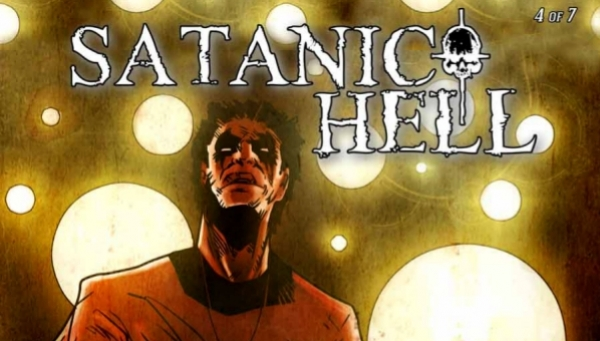 'Satanic Hell #4:' Comic Book Review (Introducing The Saint)