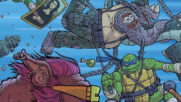 'TMNT: Bebop and Rocksteady Destroy Everything #1' - Comic Book Review