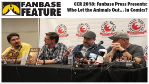 Fanbase Feature: Comic Con Revolution 2018 - 'Fanbase Press Presents: Who Let the Animals Out... in Comics' Panel Audio