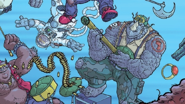 'TMNT: Bebop and Rocksteady Destroy Everything #5' - Comic Book Review