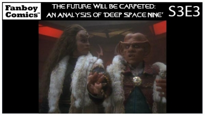 The Future Will Be Carpeted: An Analysis of 'Deep Space Nine (S3E3)'