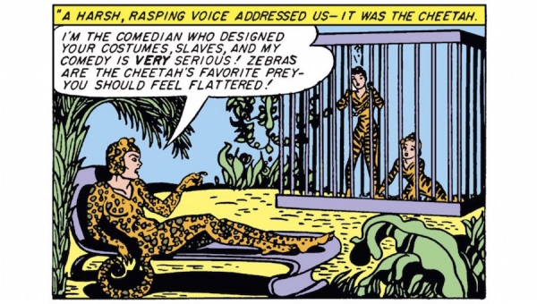 Wonder Woman Wednesday: The Cheetah Cometh!