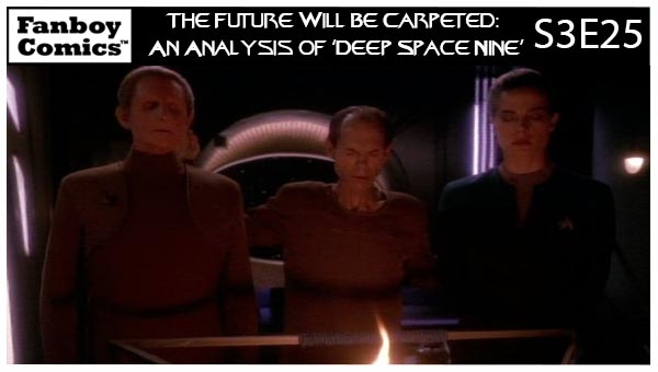 The Future Will Be Carpeted: An Analysis of 'Deep Space Nine (S3E25)'