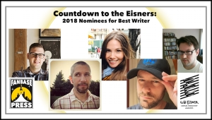 Countdown to the Eisners: 2018 Nominees for Best Writer