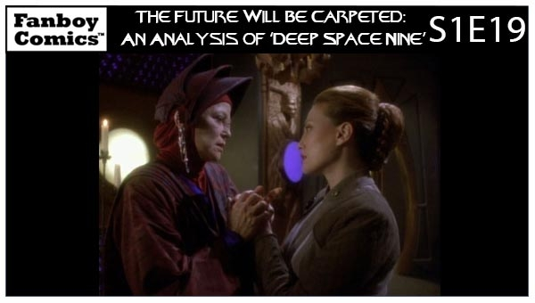 The Future Will Be Carpeted: An Analysis of 'Deep Space Nine (S1E19)'