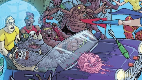'TMNT: Bebop and Rocksteady Destroy Everything #3' - Advance Comic Book Review
