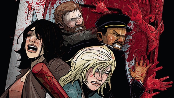 'Train 8: The Zombie Express #2' - Comic Book Review