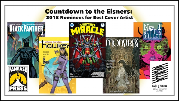 Countdown to the Eisners: 2018 Nominees for Best Cover Artist