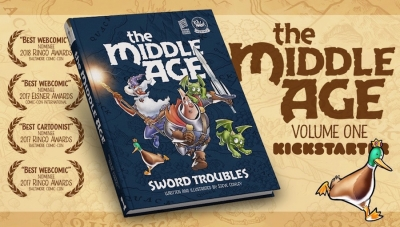 #CrowdfundingFridays: 'The Middle Age' (Hardcover Print Edition)