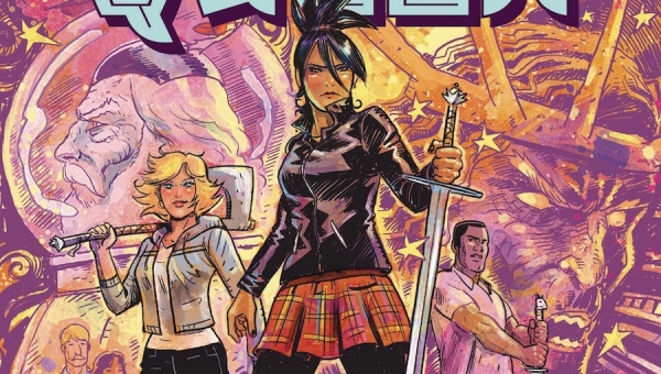 'The Once and Future Queen: Volume 1 - Opening Moves' - Advance Trade Paperback Review