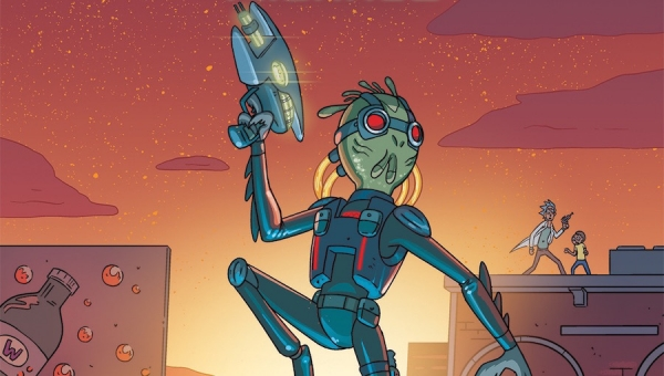 'Rick and Morty Presents: Krombopulos Michael #1' - Comic Book Review