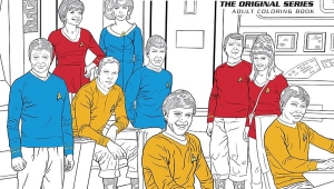 'Star Trek: The Original Series Adult Coloring Book' - Advance Graphic Novel Review