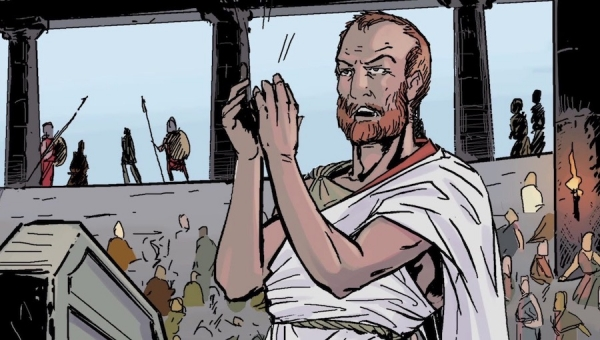 'Polis: The Trial of Socrates – Part 1 (The Restoration)' - Comic Book Review