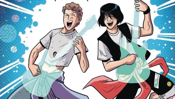 'Bill & Ted Save the Universe:' Advance Trade Paperback Review