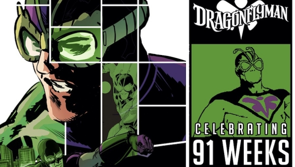 Fanbase Press Interviews Tom Peyer on the Official Launch of Dragonflyman Day
