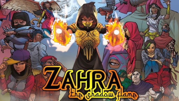 #CrowdfundingFridays: 'Zahra: The Shadow Flame,' 'The Mysterious Cauldron,' and 'Hard Wyred: Complete Series'