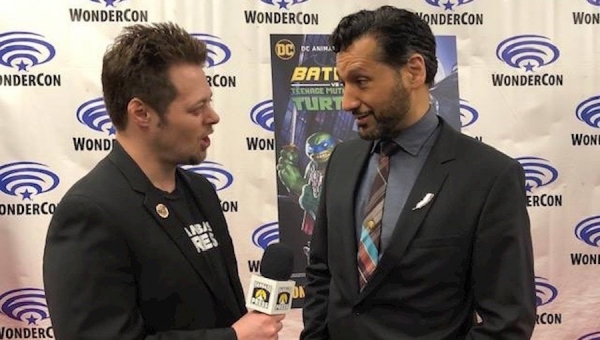 WonderCon 2019: Fanbase Press Interviews Cas Anvar on Ra's al Ghul in 'Batman vs. TMNT'