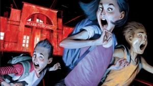 'Just Beyond: The Scare School' - Graphic Novel Review