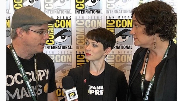 SDCC 2018: Fanbase Press Interviews Andy Weir and Susan Wise Bauer on 'MARS Season 2,' Space Force, and More