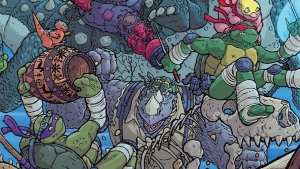 'TMNT: Bebop and Rocksteady Destroy Everything #2' - Advance Comic Book Review