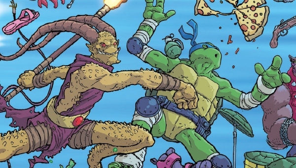 'TMNT: Bebop and Rocksteady Destroy Everything #4' - Advance Comic Book Review