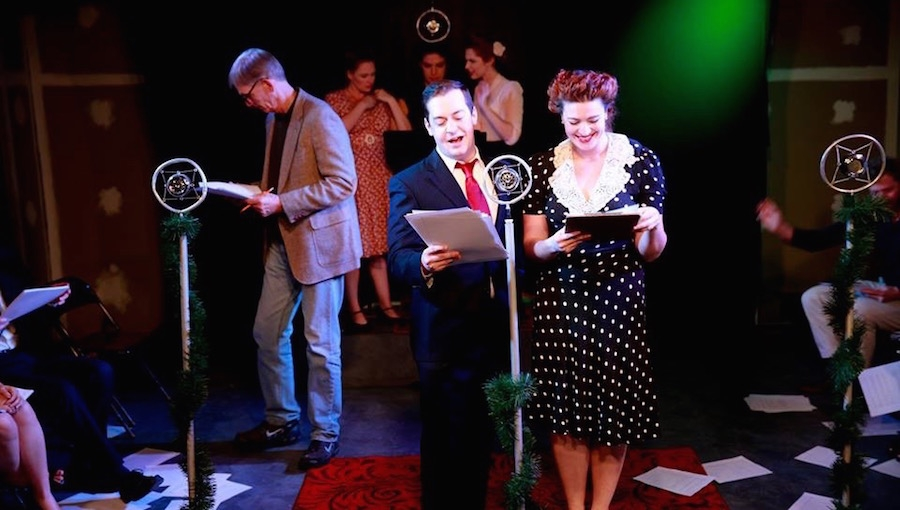 theatre unleasheds a very die hard christmas and its a wonderful life