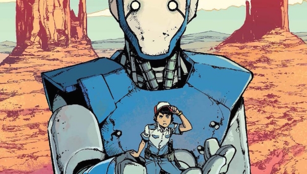 'Mech Cadet Yu #1:' Comic Book Review