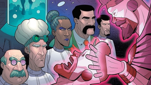'Adamant #4:' Comic Book Review