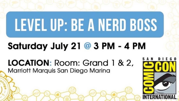 Fanbase Press Interviews Michelle Jensen on Espionage Cosmetics' 'Level Up: Be a Nerd Boss' Panel and Meet-Up at SDCC 2018