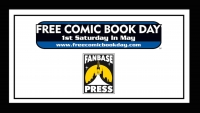 Celebrate Free Comic Book Day 2018 with Fanbase Press at Hi De Ho Comics, The Comic Bug, and Earth-2