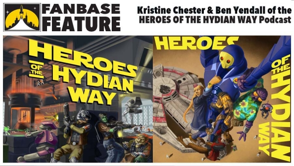 Fanbase Feature: An Interview with Kristine Chester and Ben Yendall of the 'Heroes of the Hydian Way' Podcast