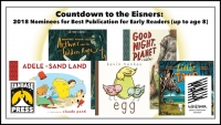 Countdown to the Eisners: 2018 Nominees for Best Publication for Early Readers (up to Age 8)