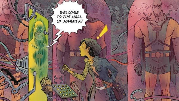 'Black Hammer #12:' Advance Comic Book Review