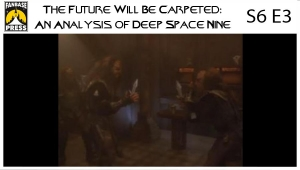 The Future Will Be Carpeted: An Analysis of 'Deep Space Nine (S6E3)'