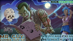 #CrowdfundingFridays: 'Mr. Guy: Zombie Hunter and the Origins Anthology,' 'Hell in Stalingrad,' and 'Arks'