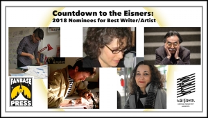 Countdown to the Eisners: 2018 Nominees for Best Writer/Artist