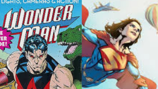 Wonder Woman Wednesday: Wonder Man V.  Superwoman