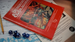 This Year, I Am Thankful for…'AD&D' and This +2 Flaming Sword