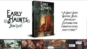 #CrowdfundingFridays: 'Early Haunts,' 'Shimmering Basin #1,' and 'One Night in Prague'