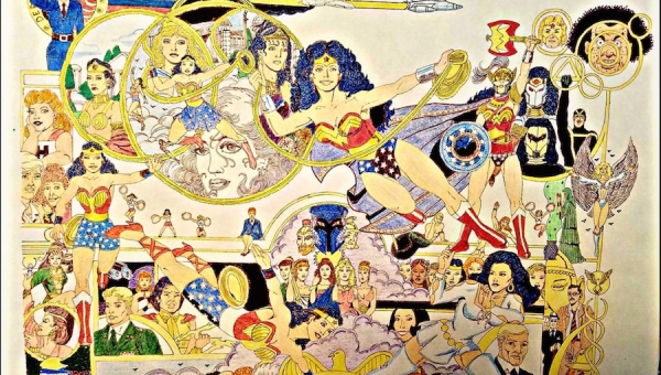 Wonder Woman Wednesday: An Interview with Super Fan and 'Wonder Woman' Artist Robert Yealock