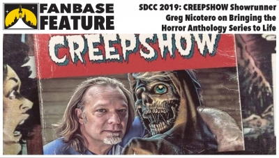 Fanbase Feature: SDCC 2019 - Showrunner Greg Nicotero on Shudder's 'Creepshow'