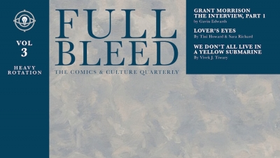 Fanbase Press Interviews Dirk Wood on the Launch of the 'Full Bleed: Volume 3' Kickstarter Campaign from IDW Publishing