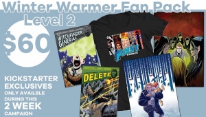 #CrowdfundingFridays: 'The 1First Comics Winter Warmer Fan Pack,' 'Sliced Quarterly Volume 1,' and 'AA Squad'
